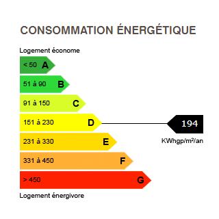 diagnostic de performance énergétique du chalet 6476 BOAN MEGEVE